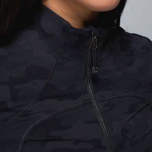 Lululemon Savasana Soot Camo Forme Jacket 10
